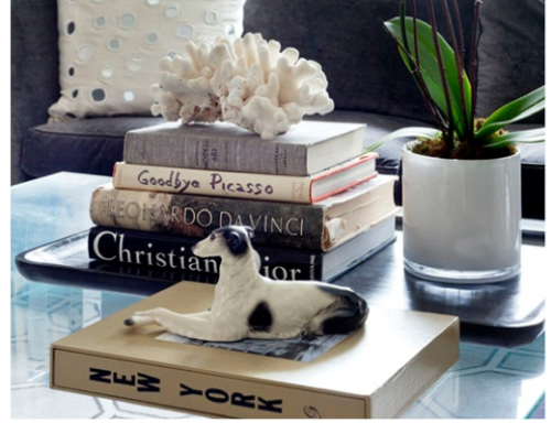On dressing your coffee table girls off fifth for Dressing a coffee table