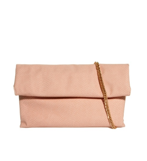 River Island Roll Fold Oversized Clutch