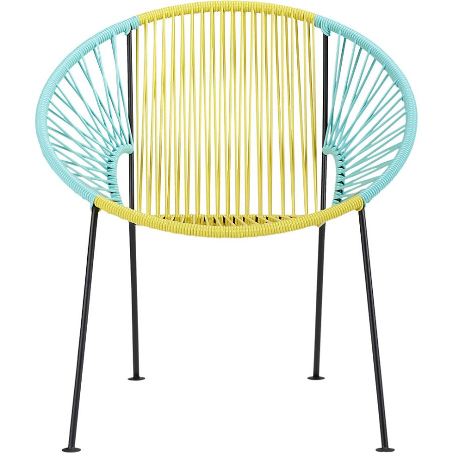 Astonishing Ixtapa Yellow Mint Lounge Chair 1 Girls Off Fifth Camellatalisay Diy Chair Ideas Camellatalisaycom