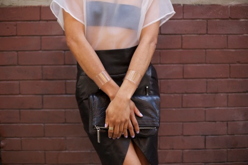 clear cuffs